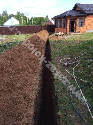 наши работы - водопровод из колодца