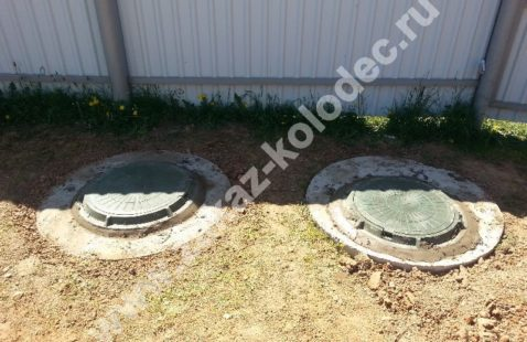 Септики из бетонных колец под ключ