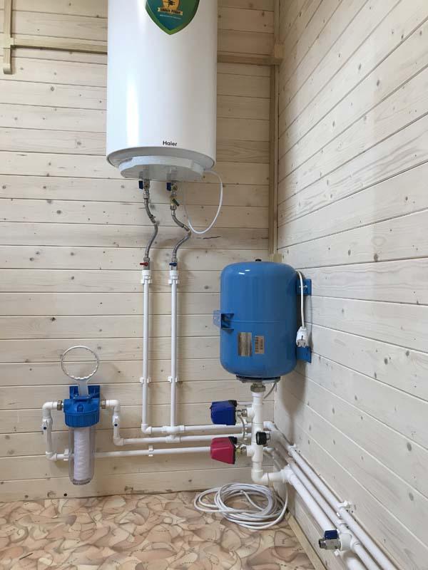 водопровод для дачи заказать