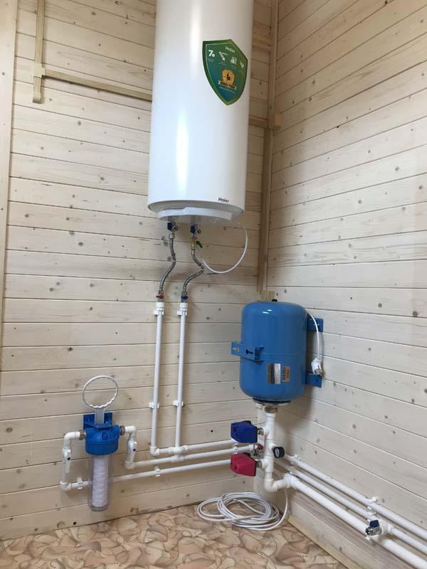водопровод для дачи монтаж и установка