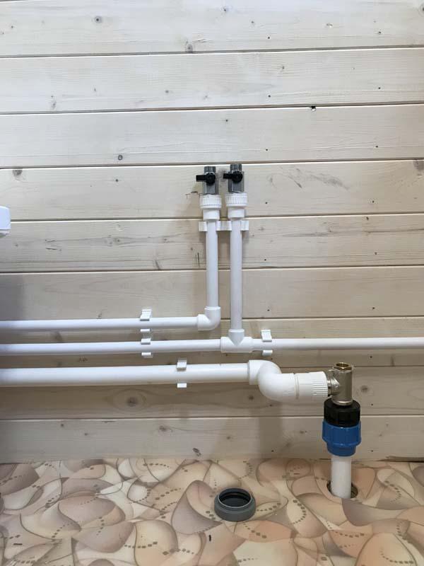 водопровод для дачи монтаж