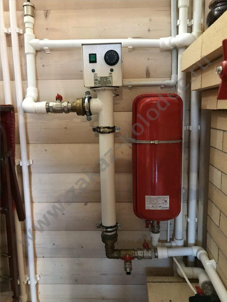 установка отопления для дачи под ключ