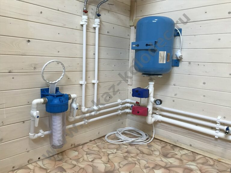 водоснабжение дачи из колодца