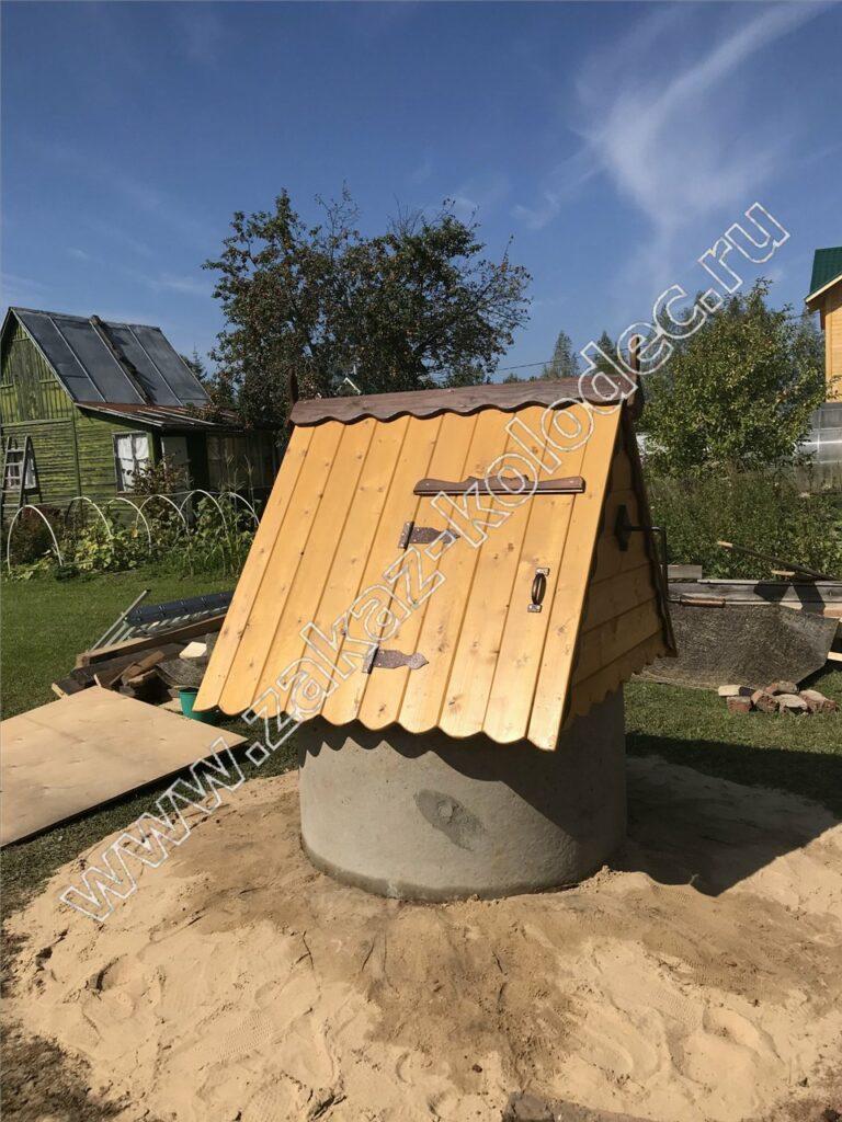 готовый колодец для дачи под питьевую воду