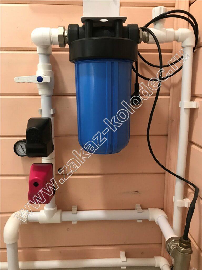 водопровод для дачи - фильтр для очистки воды