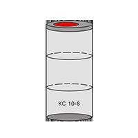 однокамерный септик из колец - схема 3