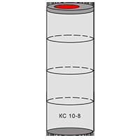 однокамерный септик из колец - схема 4