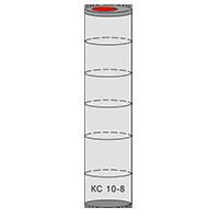 однокамерный септик из колец - схема 6