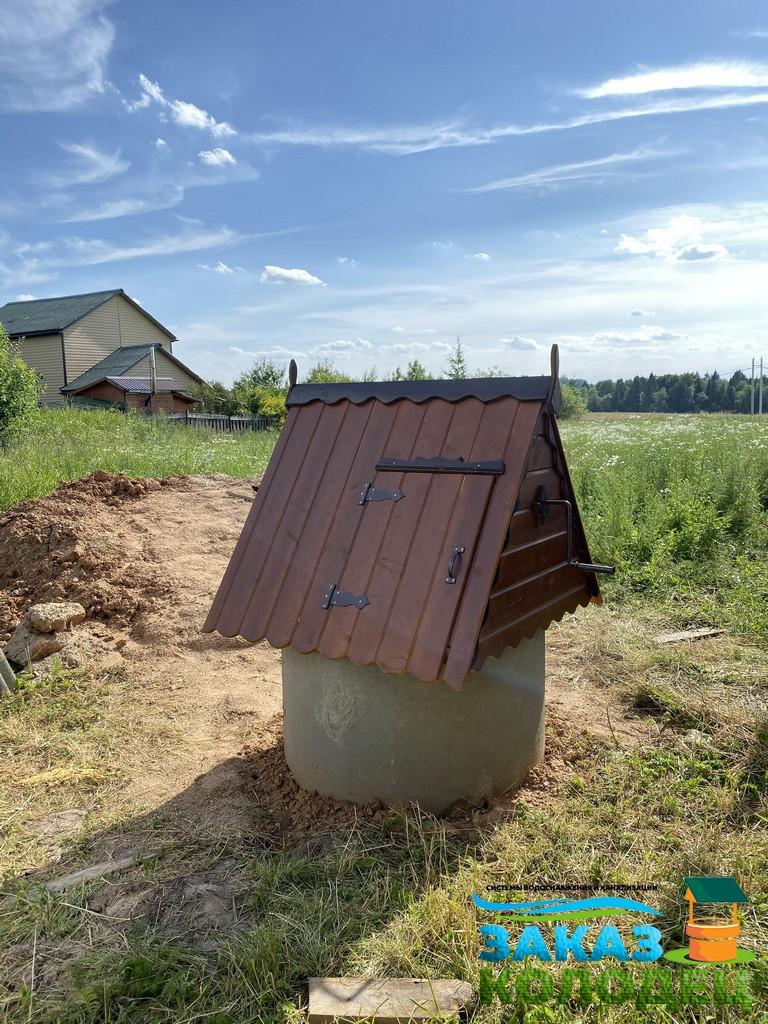 готовый колодец для питьевой воды на участке