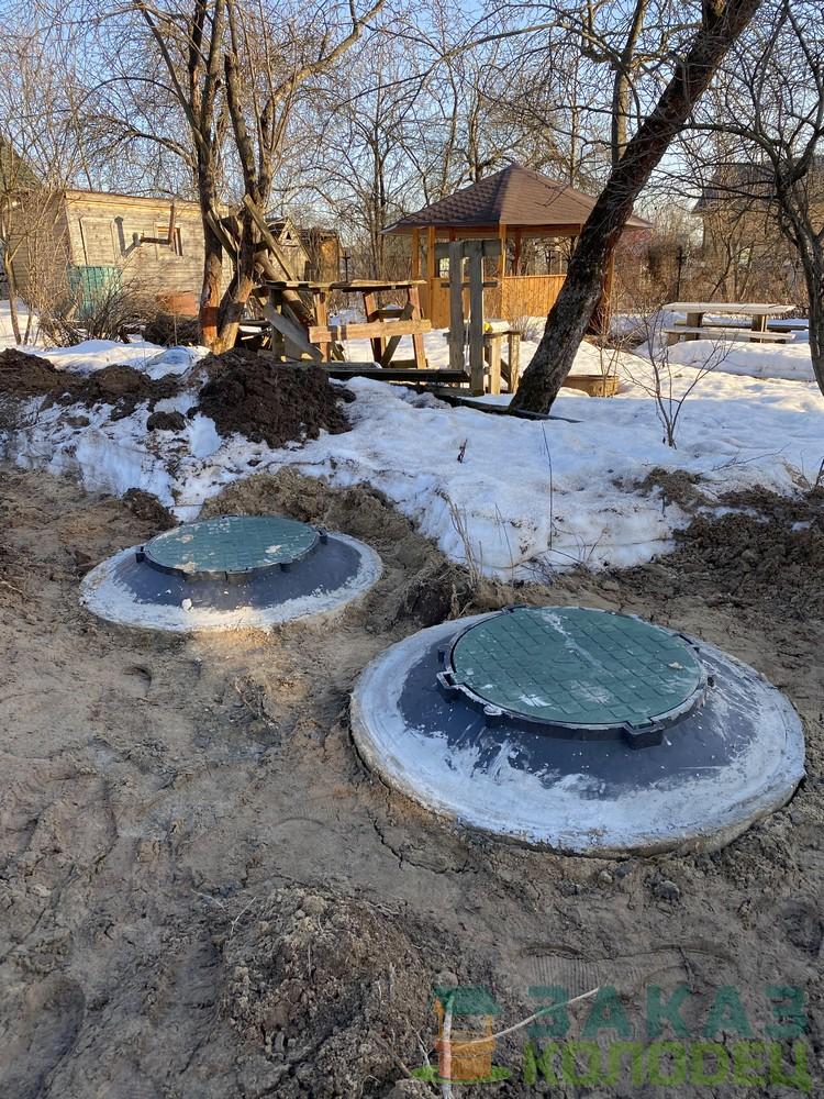 Септики из бетонных колец под ключ Мытищи