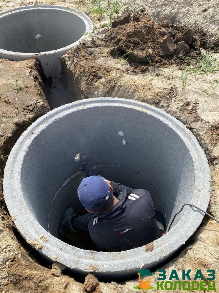 Септики из бетонных колец под ключ Переславль-Залесский