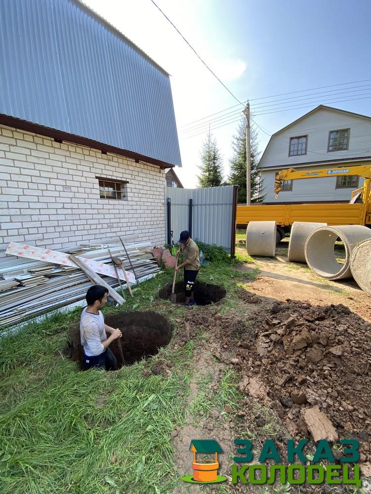 Септики из бетонных колец под ключ Сергиев-Посадский район 
